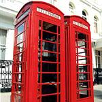 傳統公用電話亭