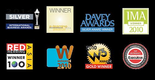 الجوائز التي حاز عليها النظام التعليمي في EF إنجليش لايف